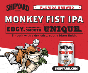 Shipyard Monkey Fist IPA Ad