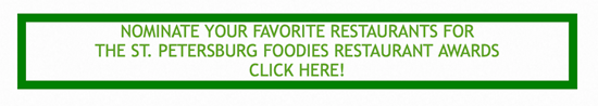 Nominate Your Favorite Restaurants for the Foodies Awards