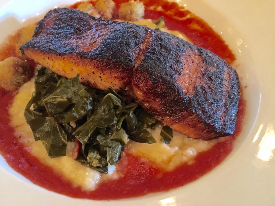 "Blackened ""Scottish Style"" Salmon"