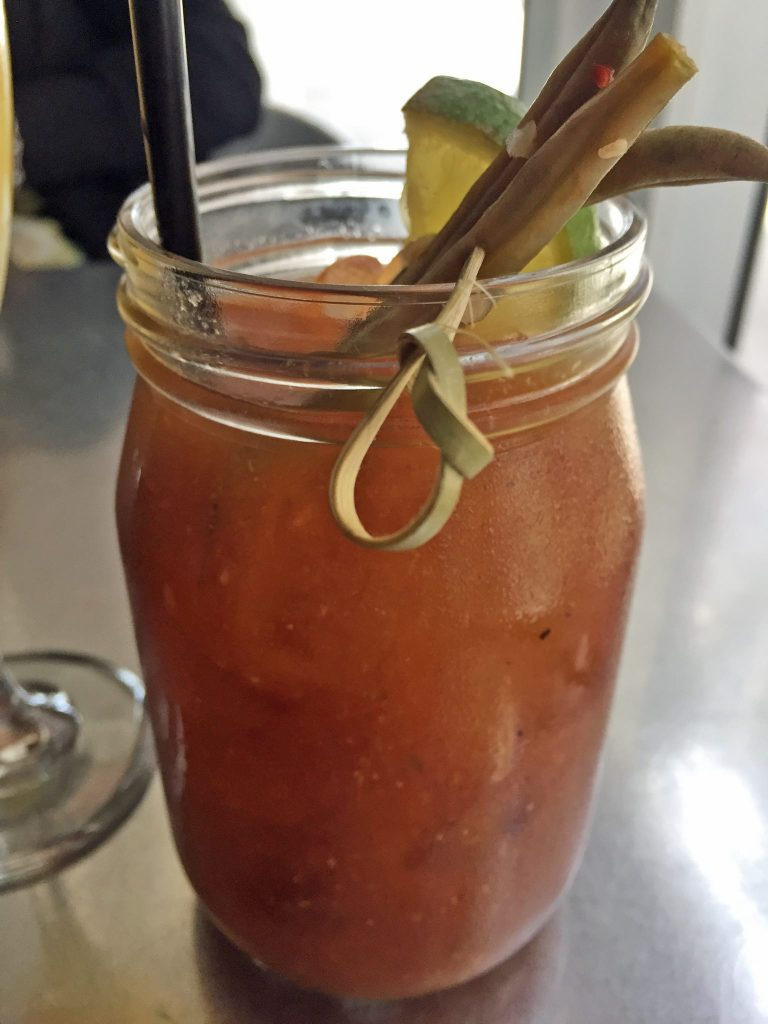 Spicy Bloody Mary at Z Grille