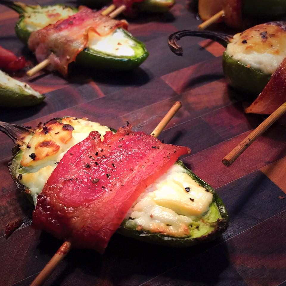 Maple & Cream Cheese Jalapeño Poppers