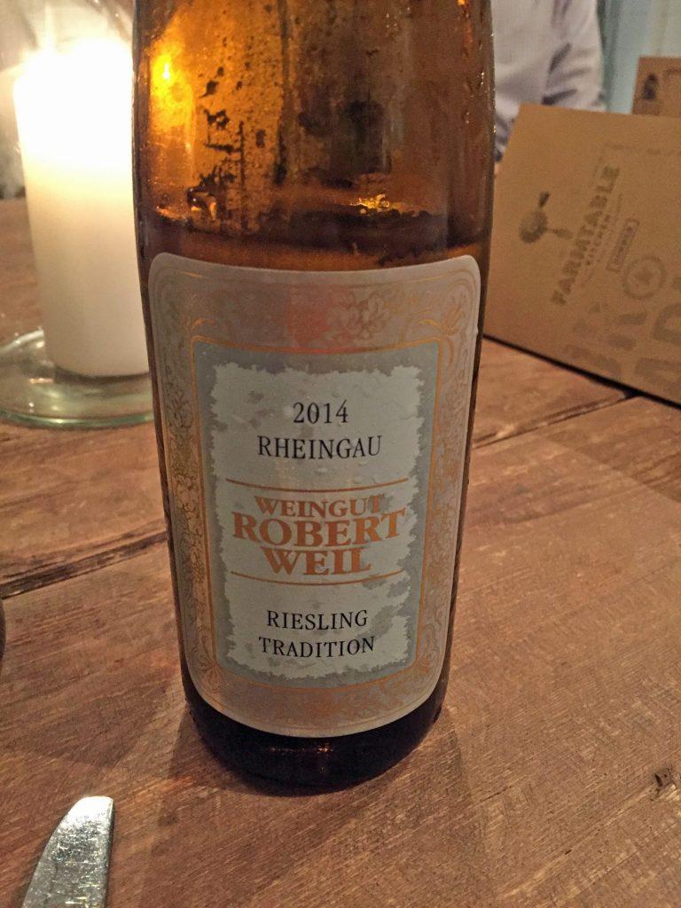 2014 Rheingau Weingut Robert Weil Riesling