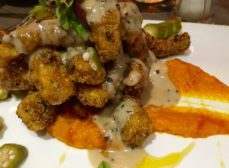 Chicken Fried Calamari at the Birch & Vine is a MUST!!  Flavor Explosion!