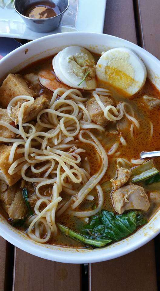 Curry Laksa at Hawkers St. Pete
