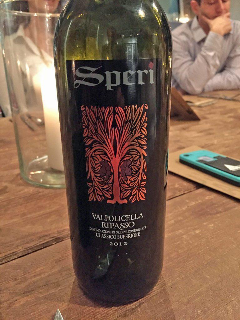 Speri Valpolicella Ripasso Classico Superiore 2012