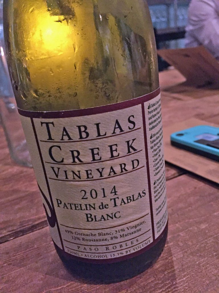 Tablas Creek Vineyard 2014 Patelin de Tablas Blanc