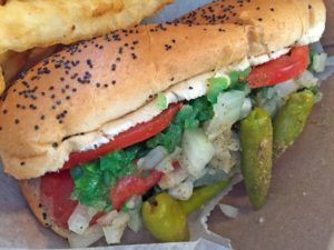 Kings Harry Caray Chicago Style Hot Dog
