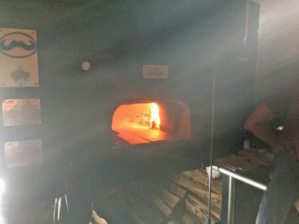 Pizza Box's Wood Fired Oven