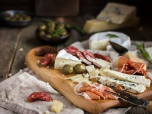 Charcuterie with Cheeses, Meats