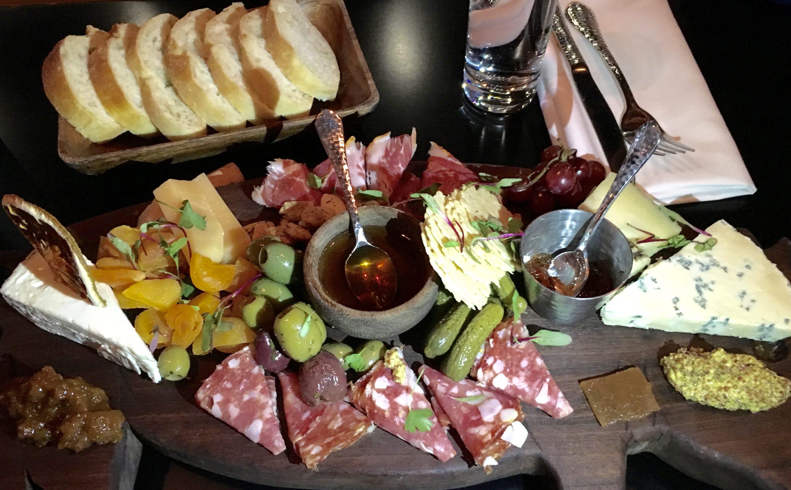 Annata Wine's Cheese & Charcuterie Platter