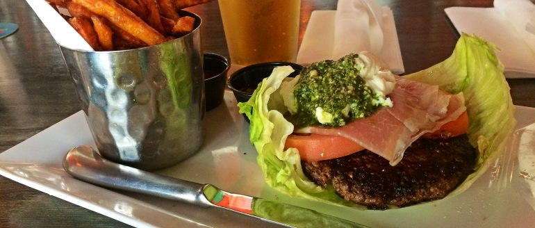 Engine No. 9 – A Gluten-Free Burger Champ