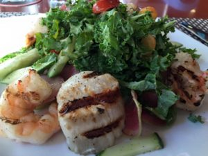 Seafood Salad at ZGrille