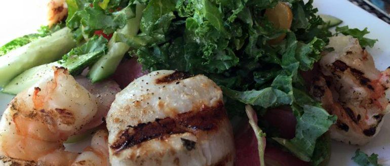 ZGrille Seafood Salad