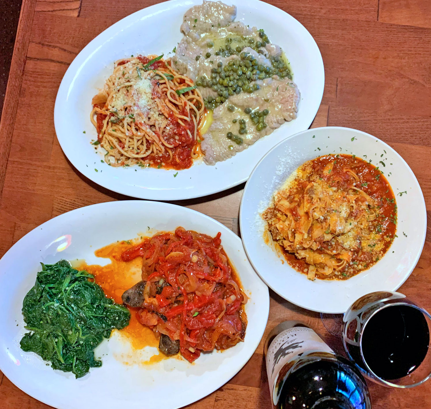 Cafe Cibo Dishes