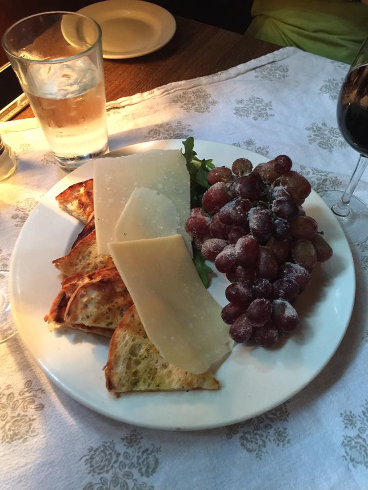 Fruit & Cheese at Pia's