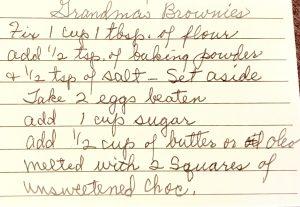 Grandma Brown's Homemade Brownies
