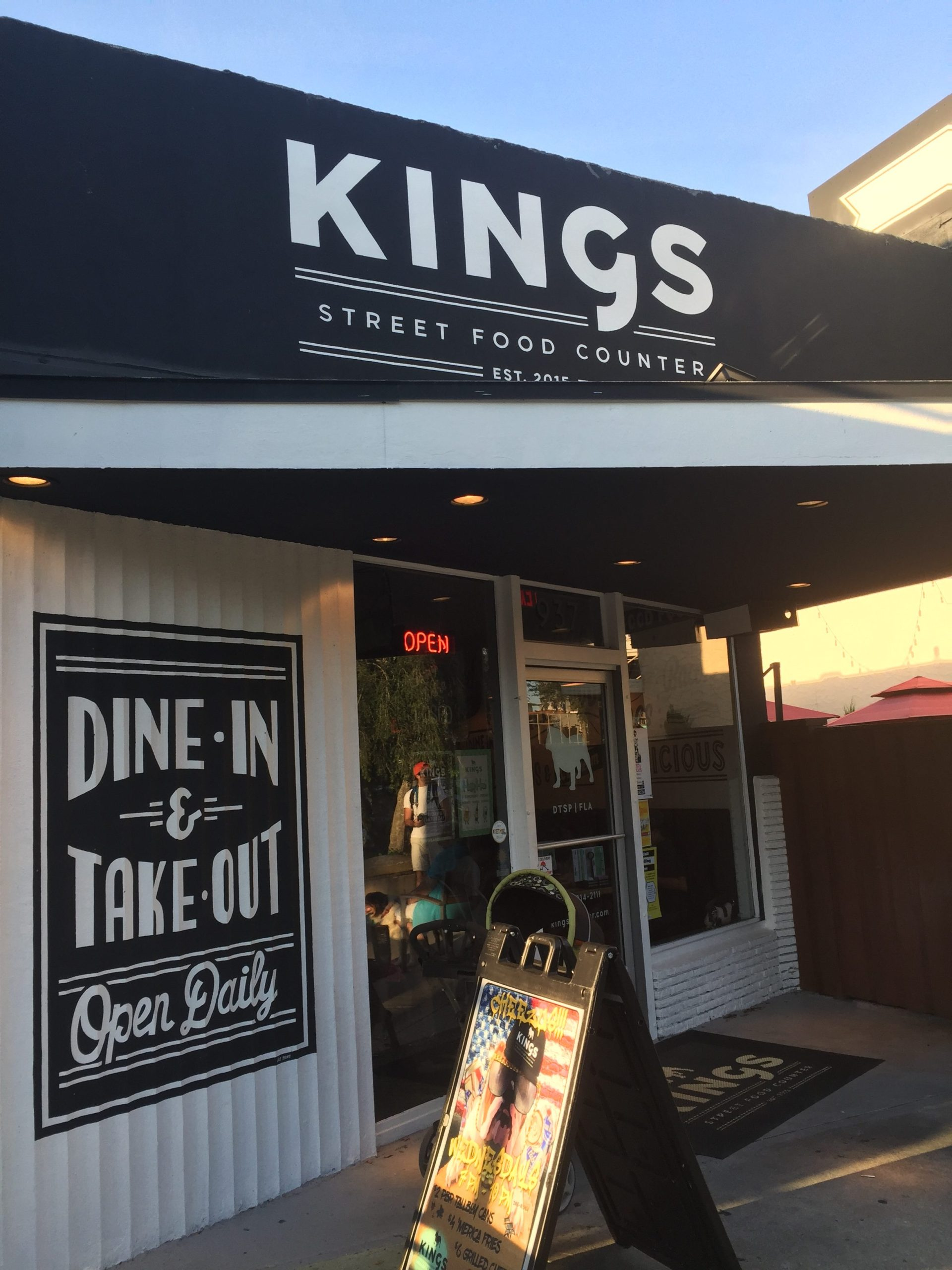King's Street Food Counter: Kid Friendly Approved