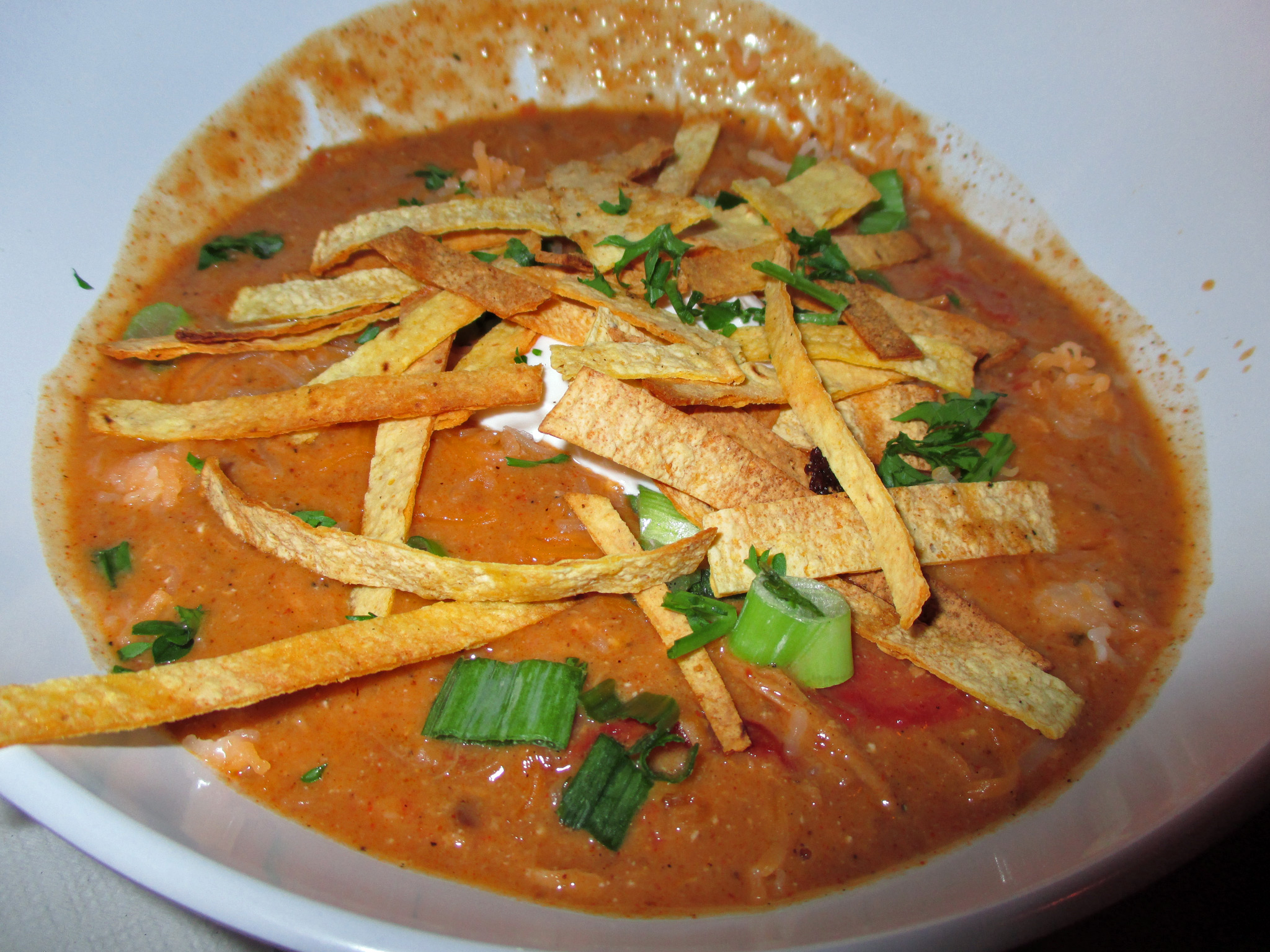 Chicken Tortilla Soup Special at Del Mar