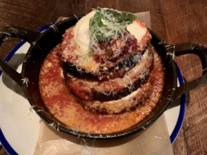 Noble Crust Eggplant Parmesan
