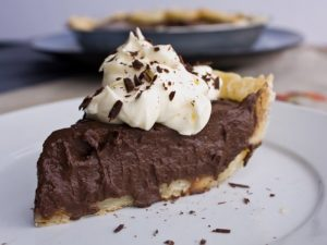Grandma Brown's Chocolate Pie