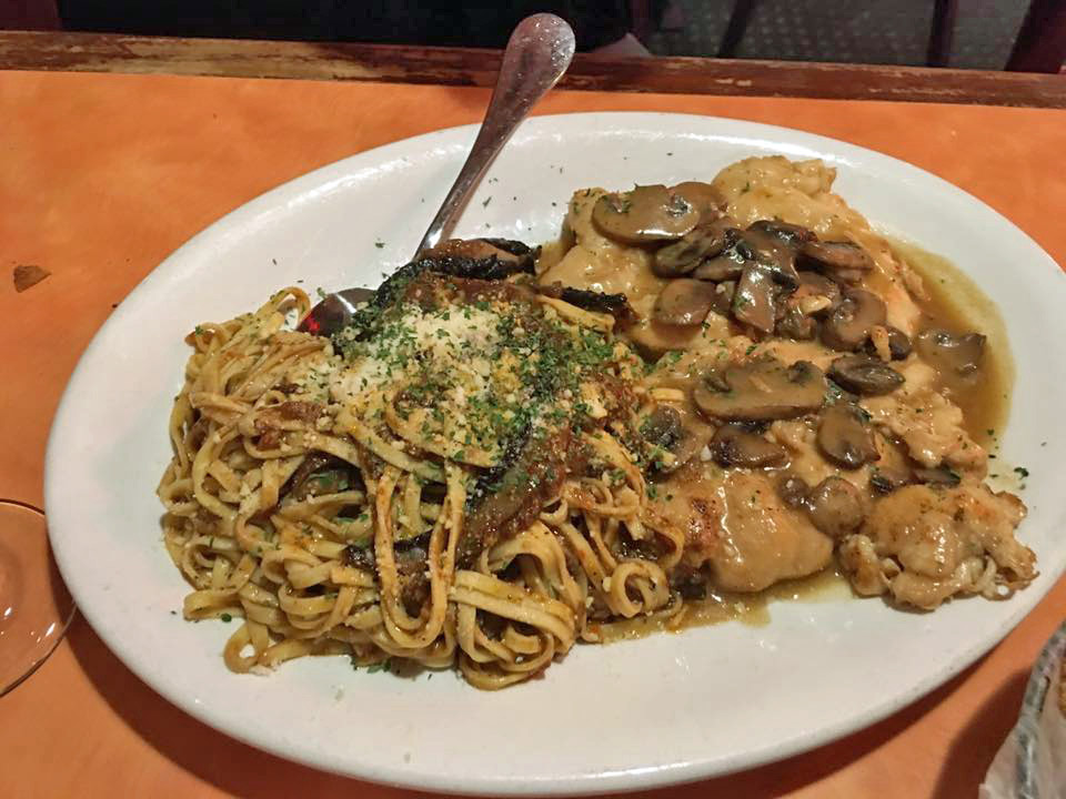 Veal Marsala at Cafe Cibo