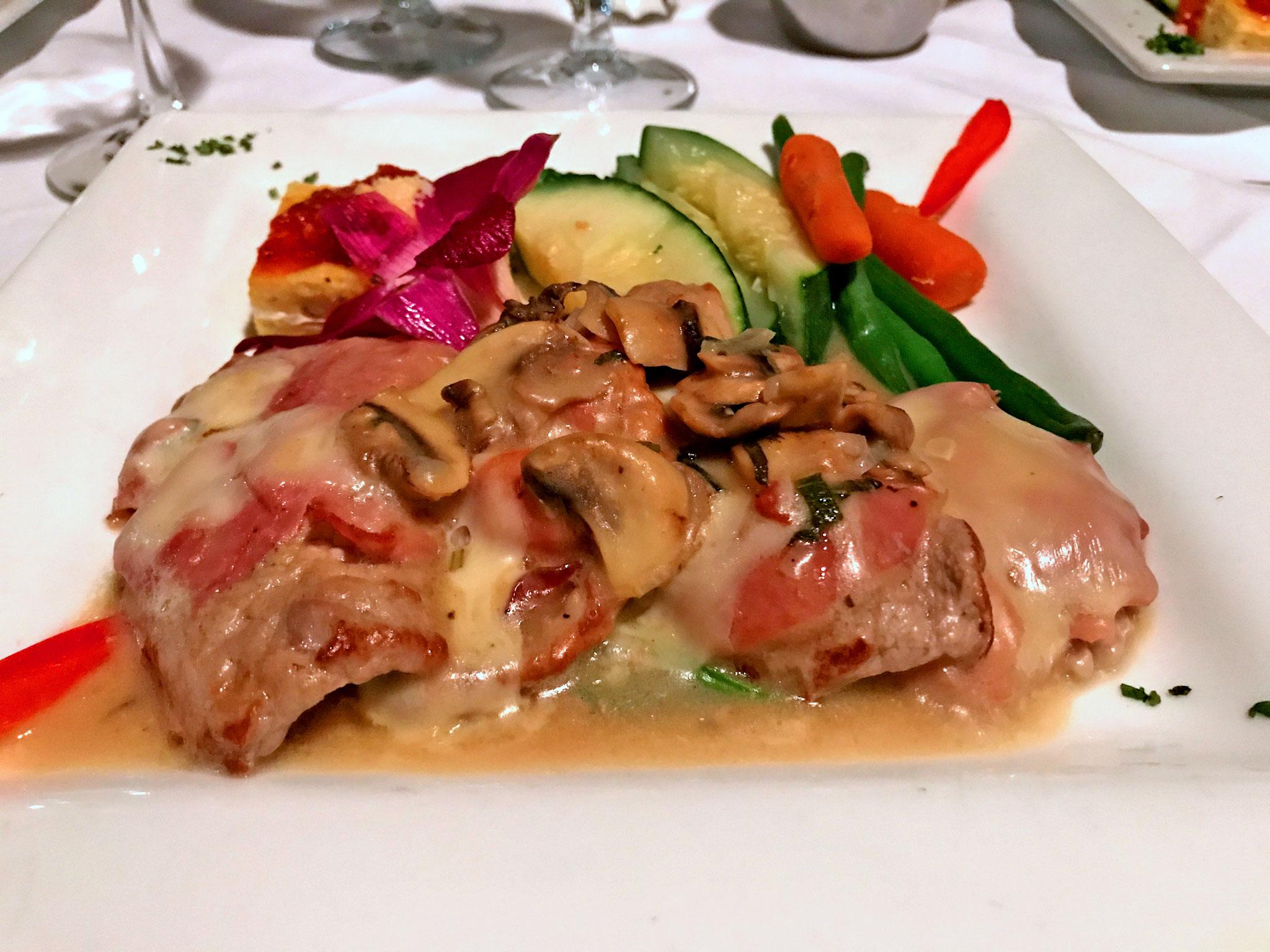 Veal Saltinbocca Cosa Nostra