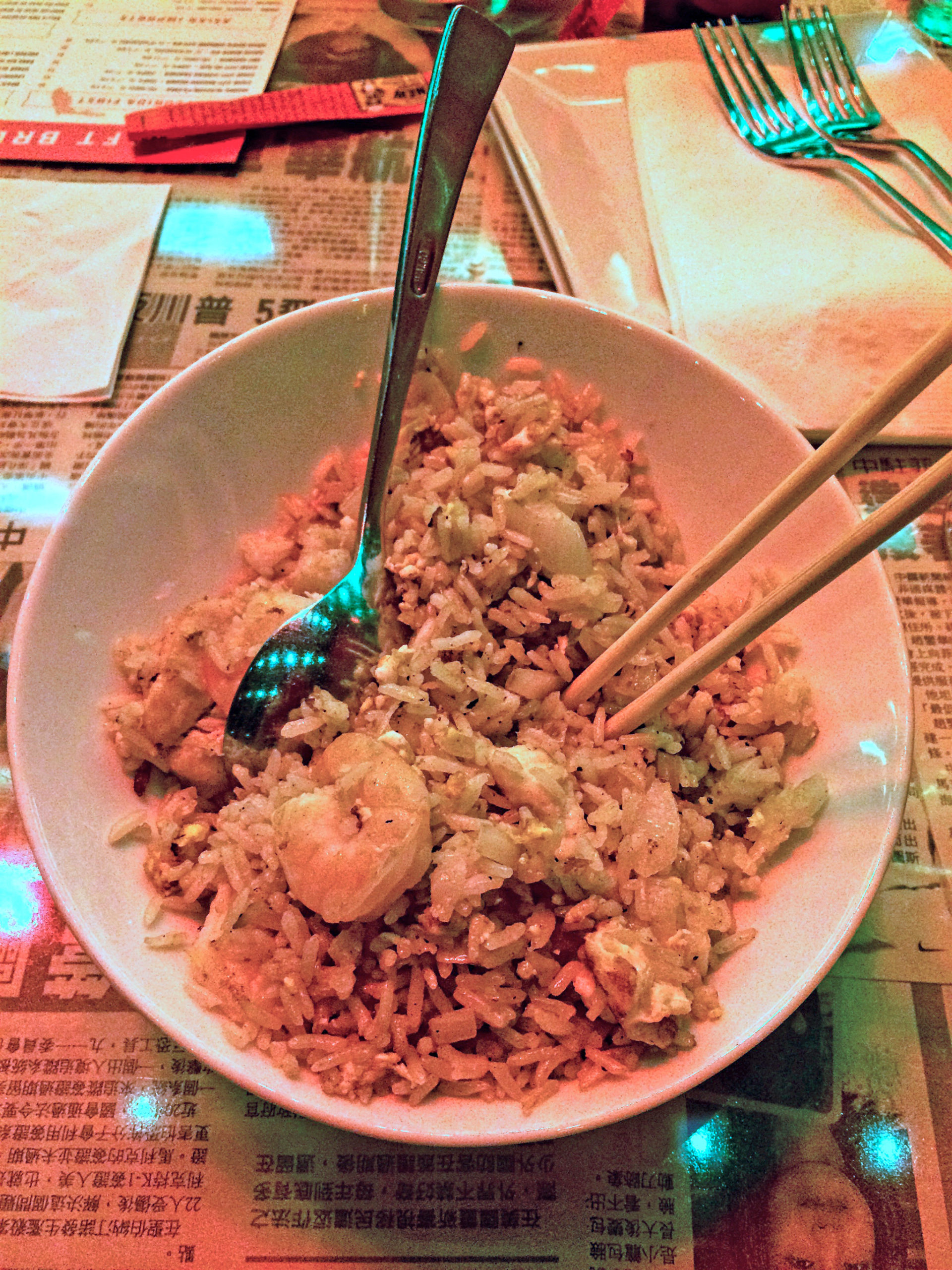 Gluten-Free Review of Hawkers Asian Street Fare