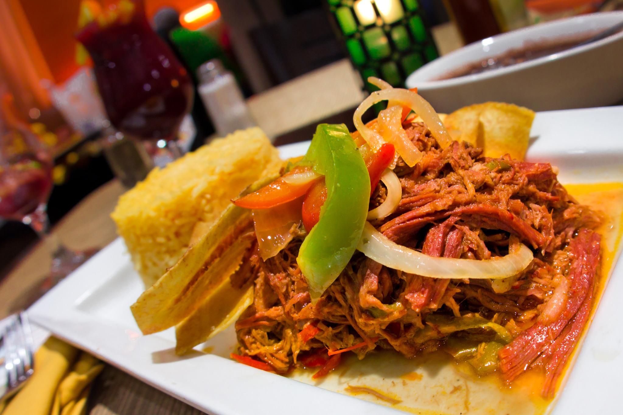 Cuban Shredded Pork