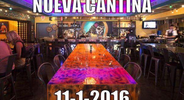 Nueva Cantina Debuts on November 1st – Replacing El Gallo Grande