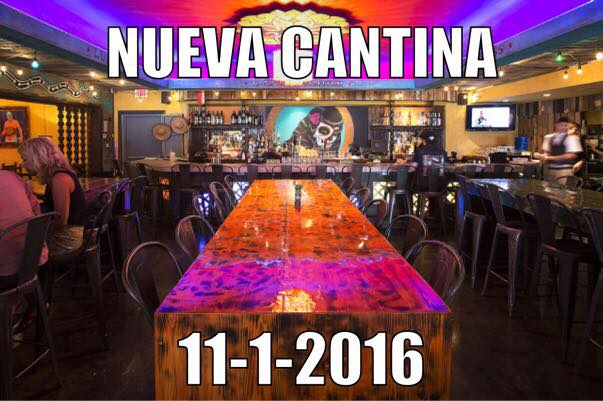 Nueva Cantina Debuts on November 1st – Replacing El Gallo Grande