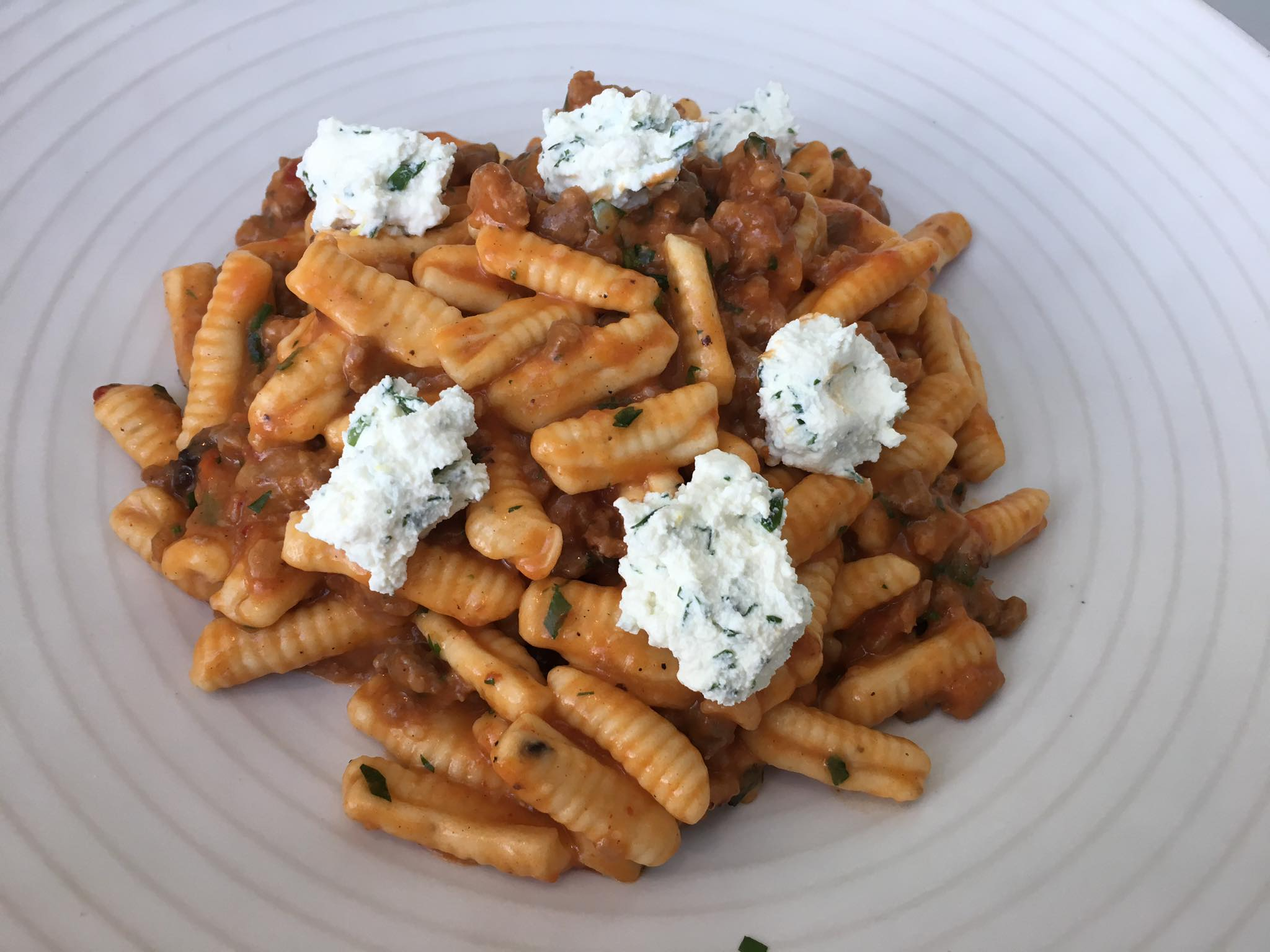 Cavatelli at FarmTable Kitchen
