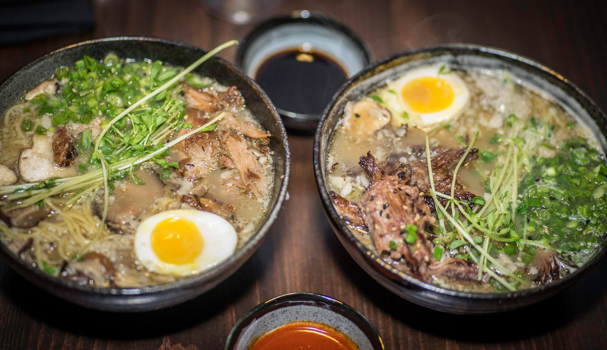 Duck and Oxtail Ramen at Buya