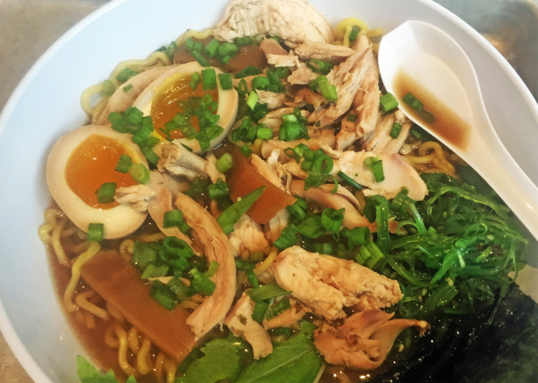 Ginger Chicken Ramen from Locale Market