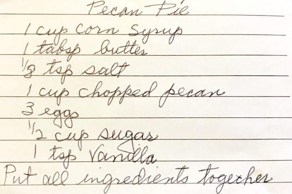 Grandma Brown's Pecan Pie - Side One