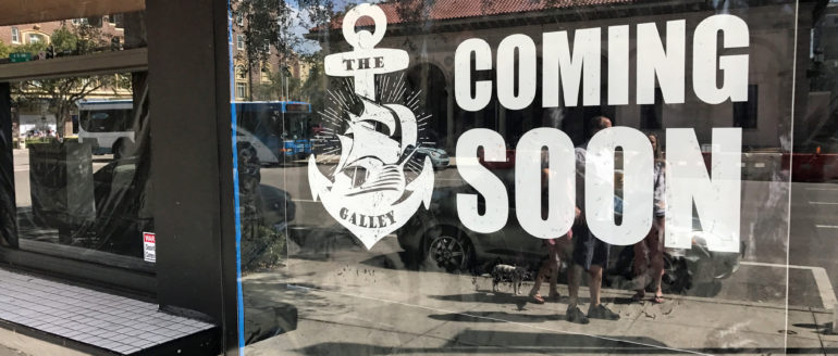 "New Bar ""The Galley"" Opening in DTSP at Year End"
