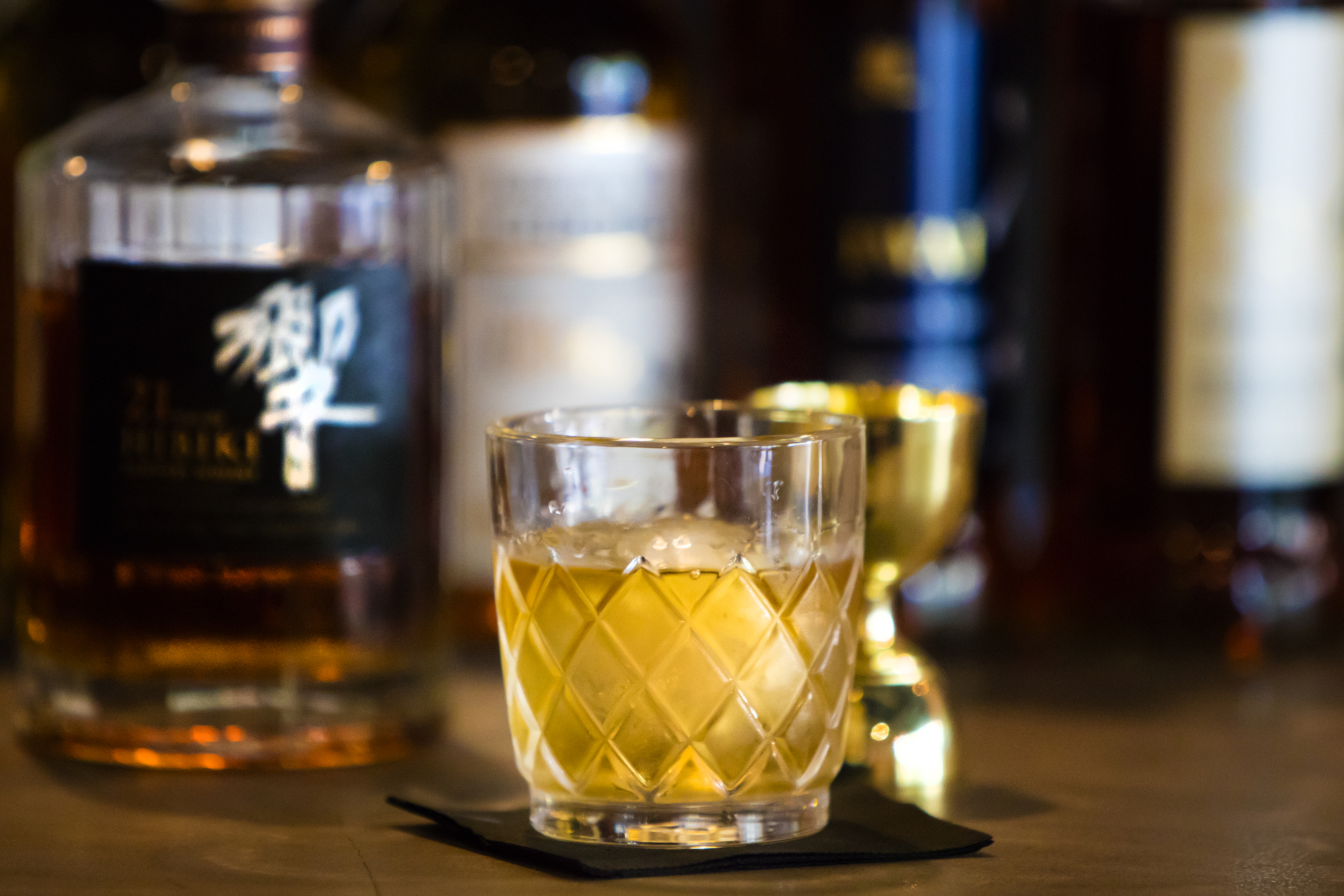 Buya has the largest selection of Japanese whiskey in the Tampa Bay area with over 30.
