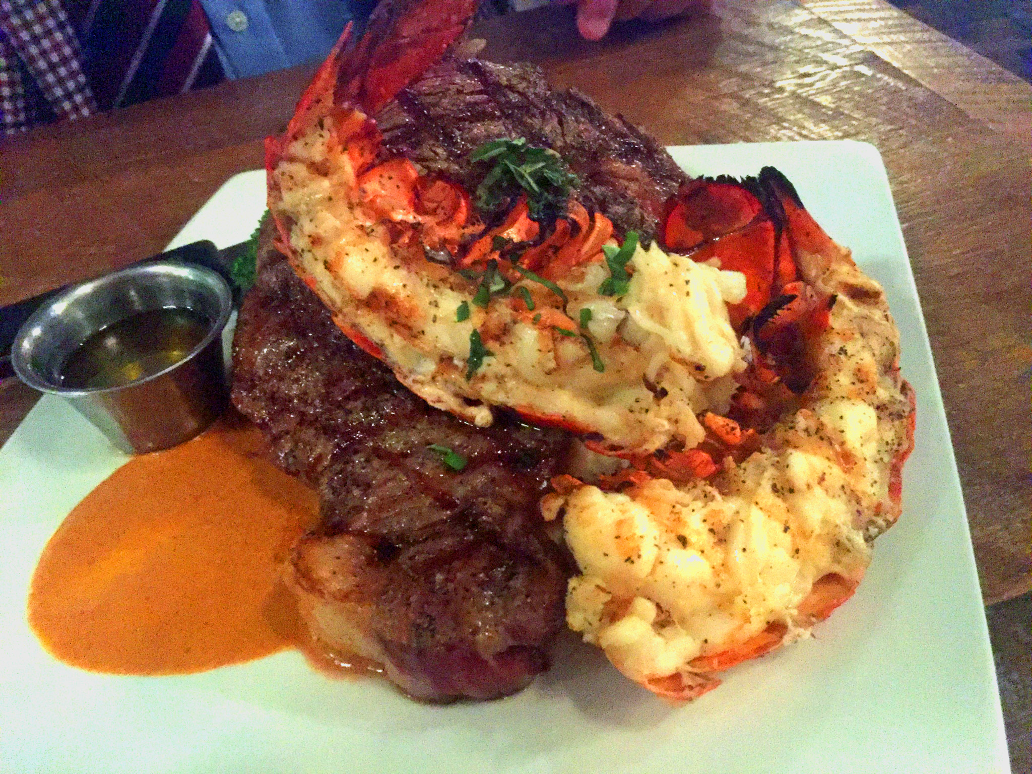 The Oyster Bar Surf & Turf