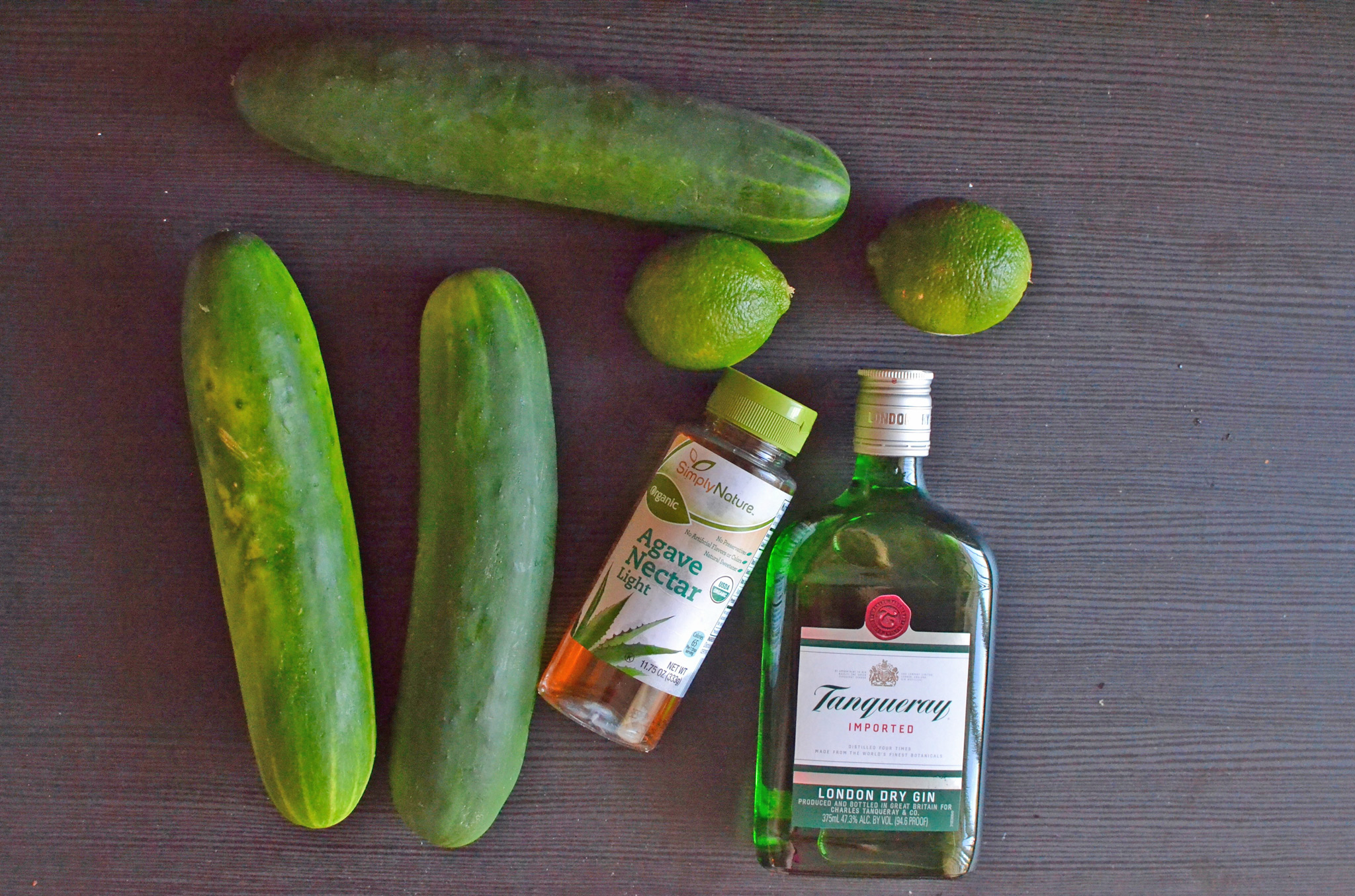 Cucumber, Gin, Agave & Fresh Lime Juice Work Perfectly Together