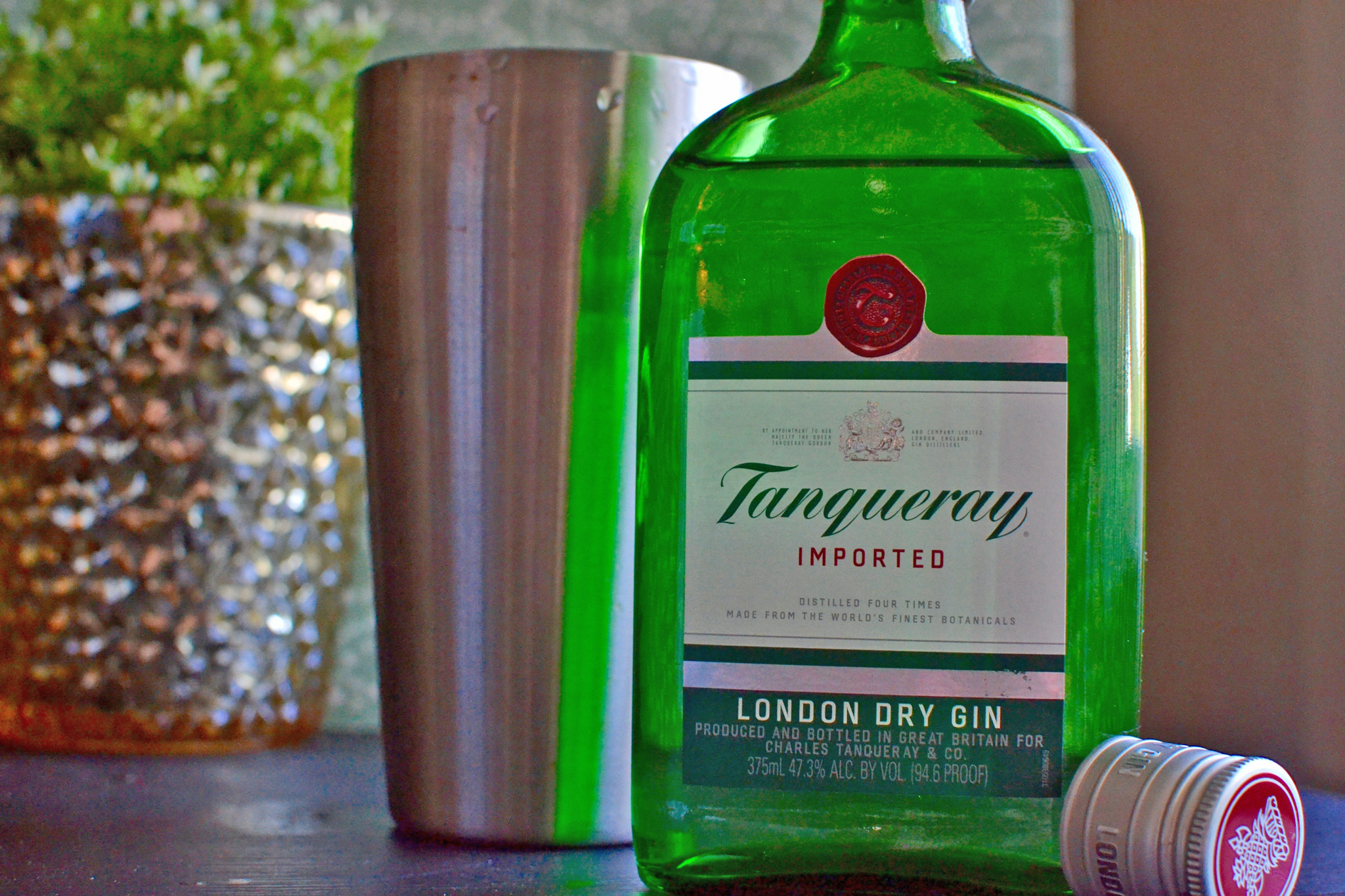 Tanqueray Gin is a St. Petersburg Foodies Favorite