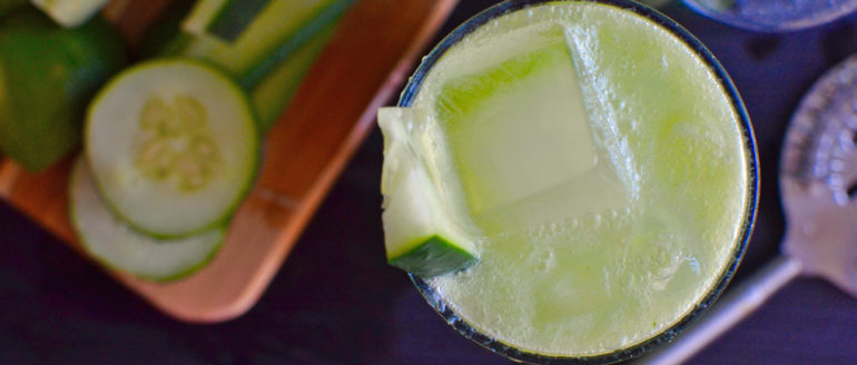 "Drink Recipe: ""The Cutecumber"""