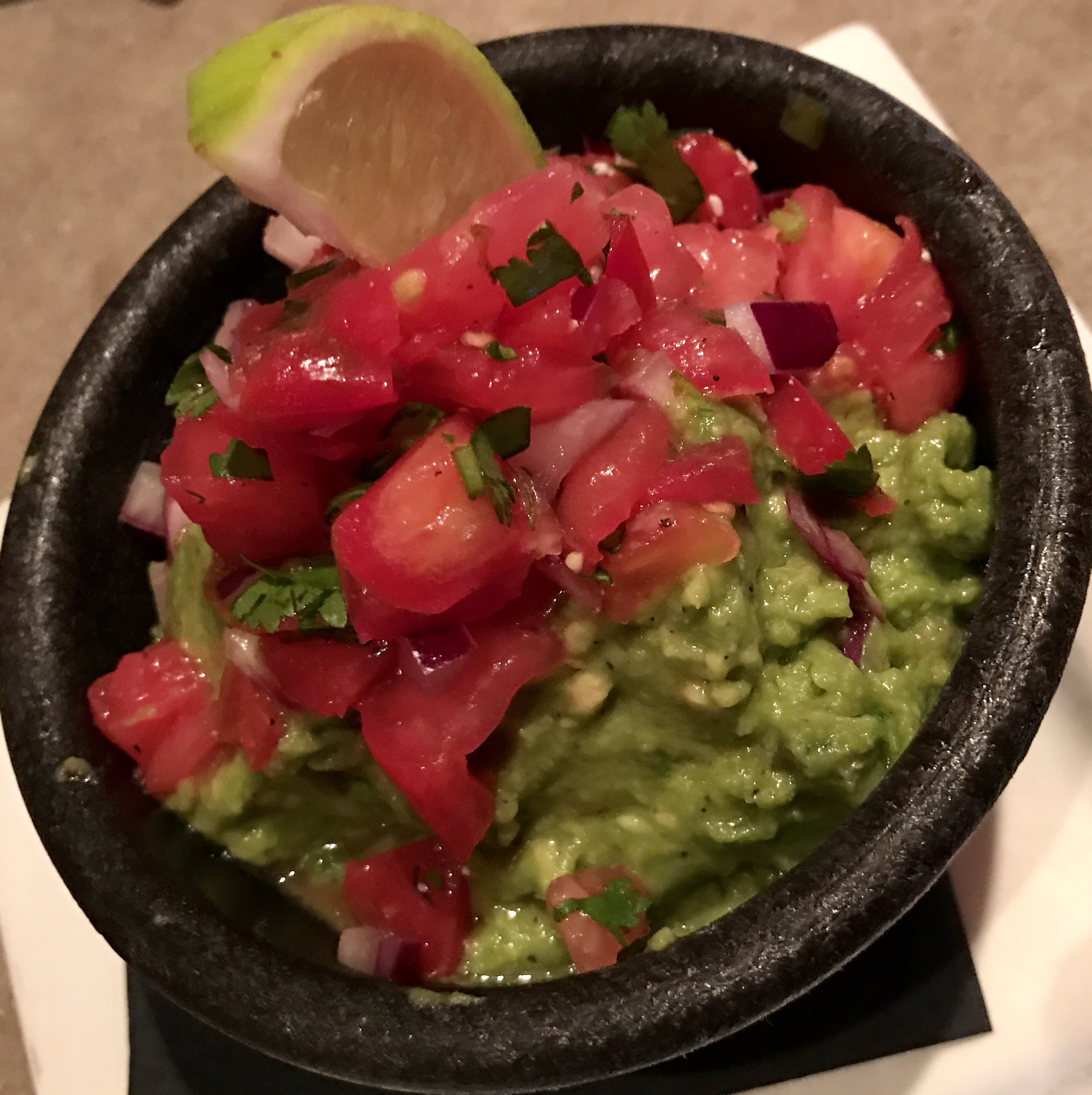 Tableside Guacamole at Nueva Cantina