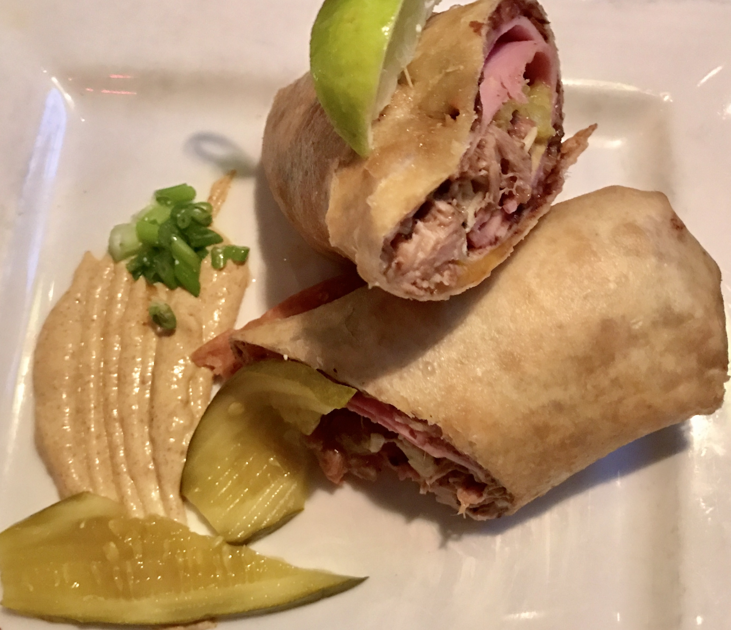 Cuban Chimichanga at Nueva Cantina