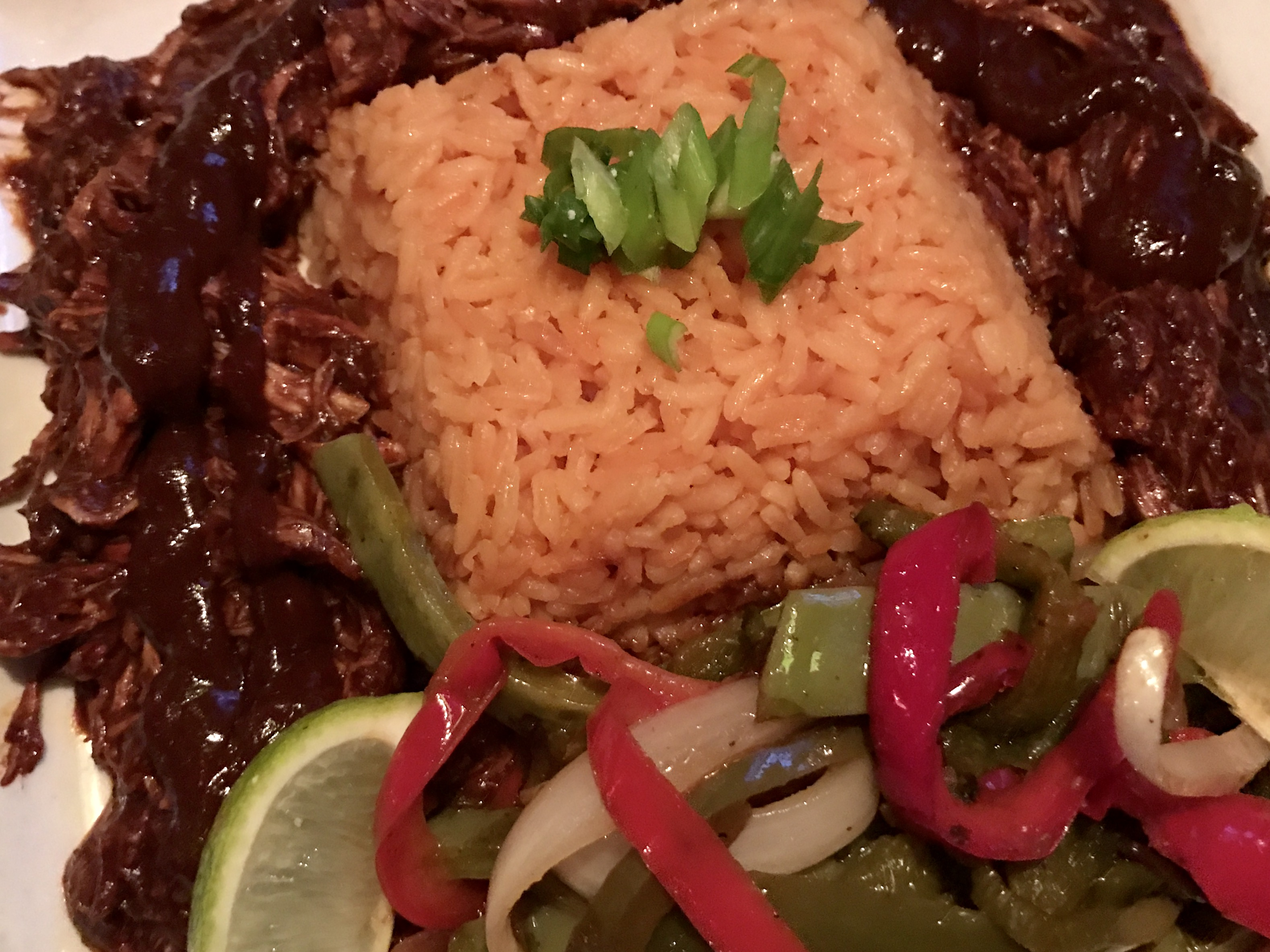 Chicken Mole at Nueva Cantina