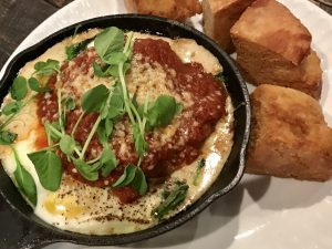Baked Eggs at The Mill