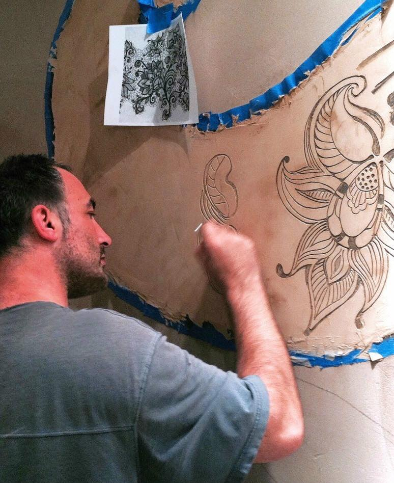 Torok Creating Art