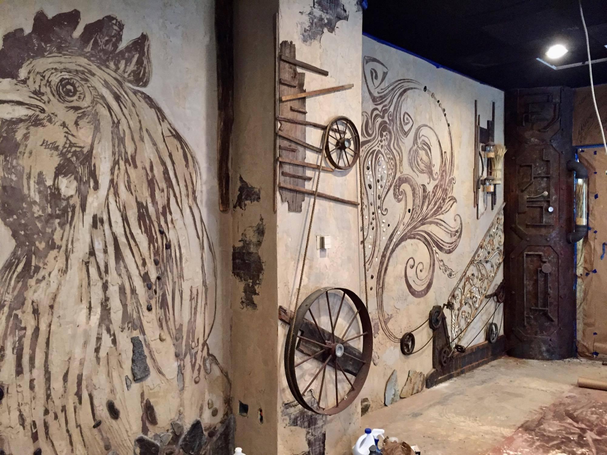 A Back Room Mural