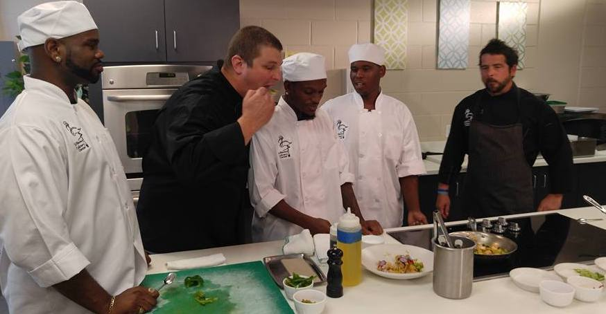 Chef Ted Taste Testing with Chef Jeffrey
