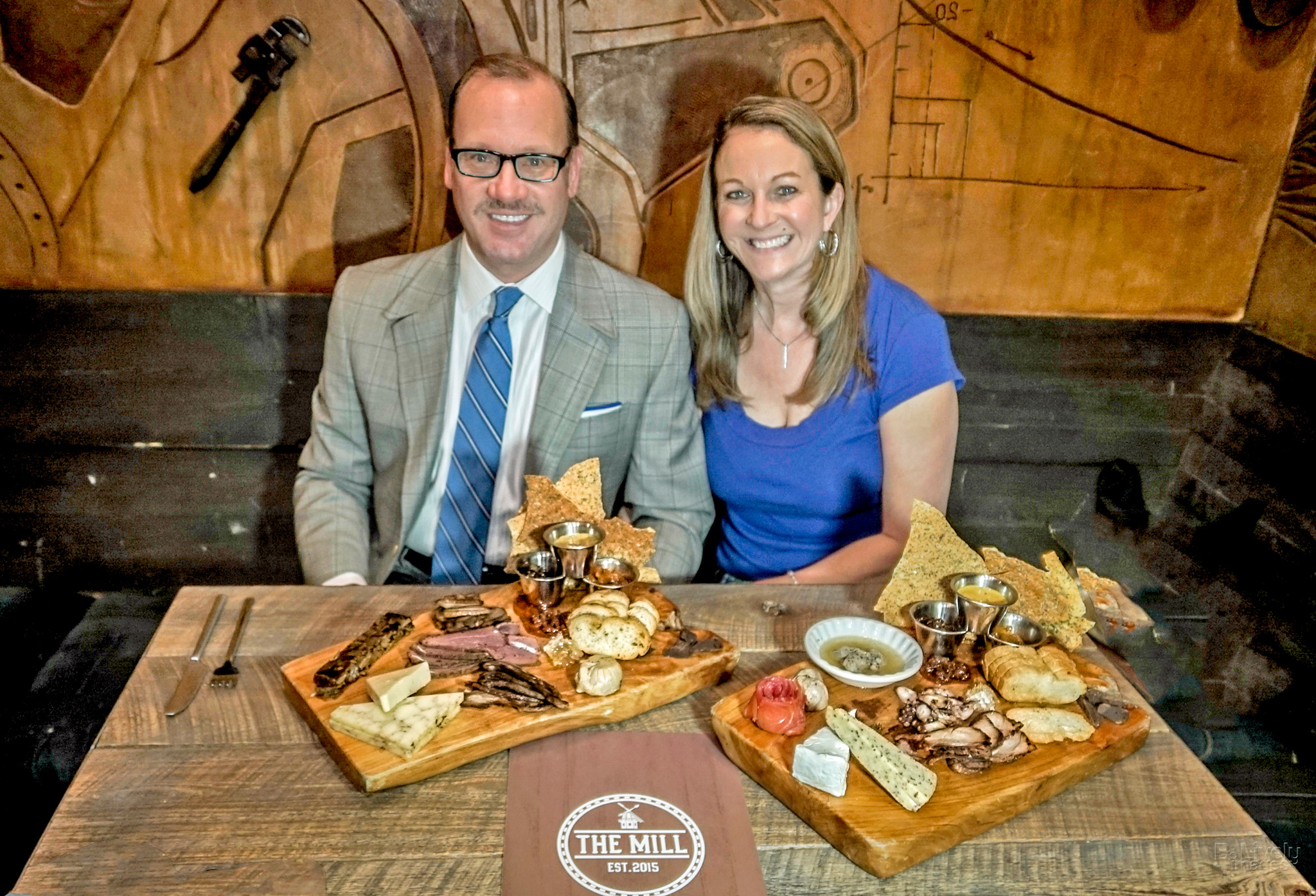 Co-Founders, Publishers & Editors of St. Petersburg Foodies Kevin Godbee & Lori Brown