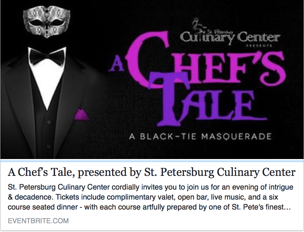 St Pete Culinary Center's Event
