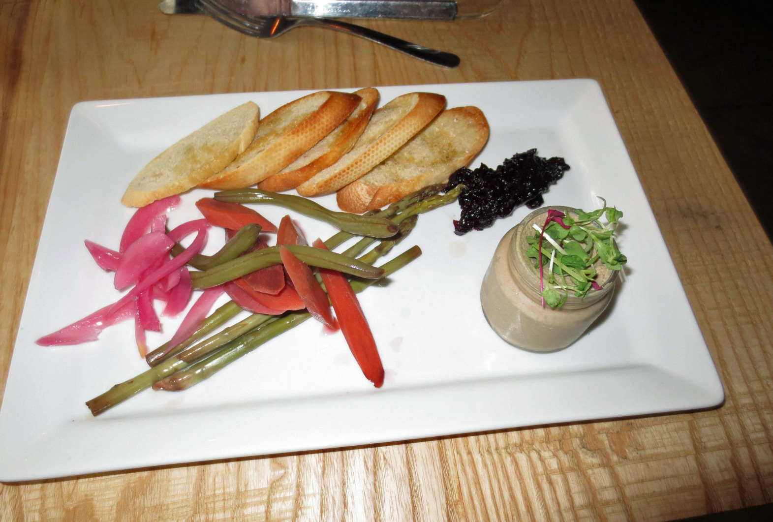 Brick & Mortar's Pork and Chicken Liver Pâté